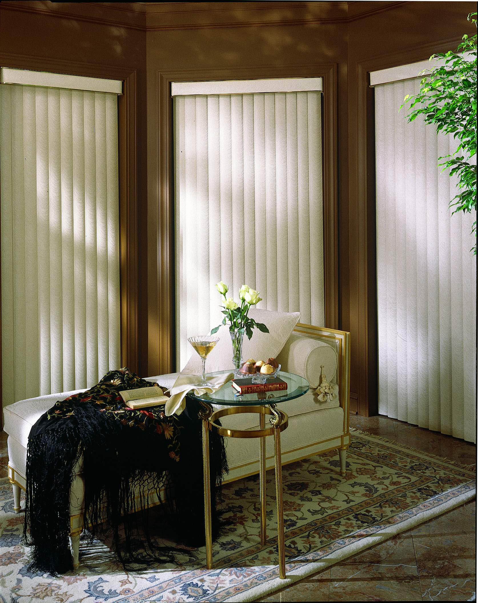 patio g home blinds mini faux doors vertical bamboo inch design