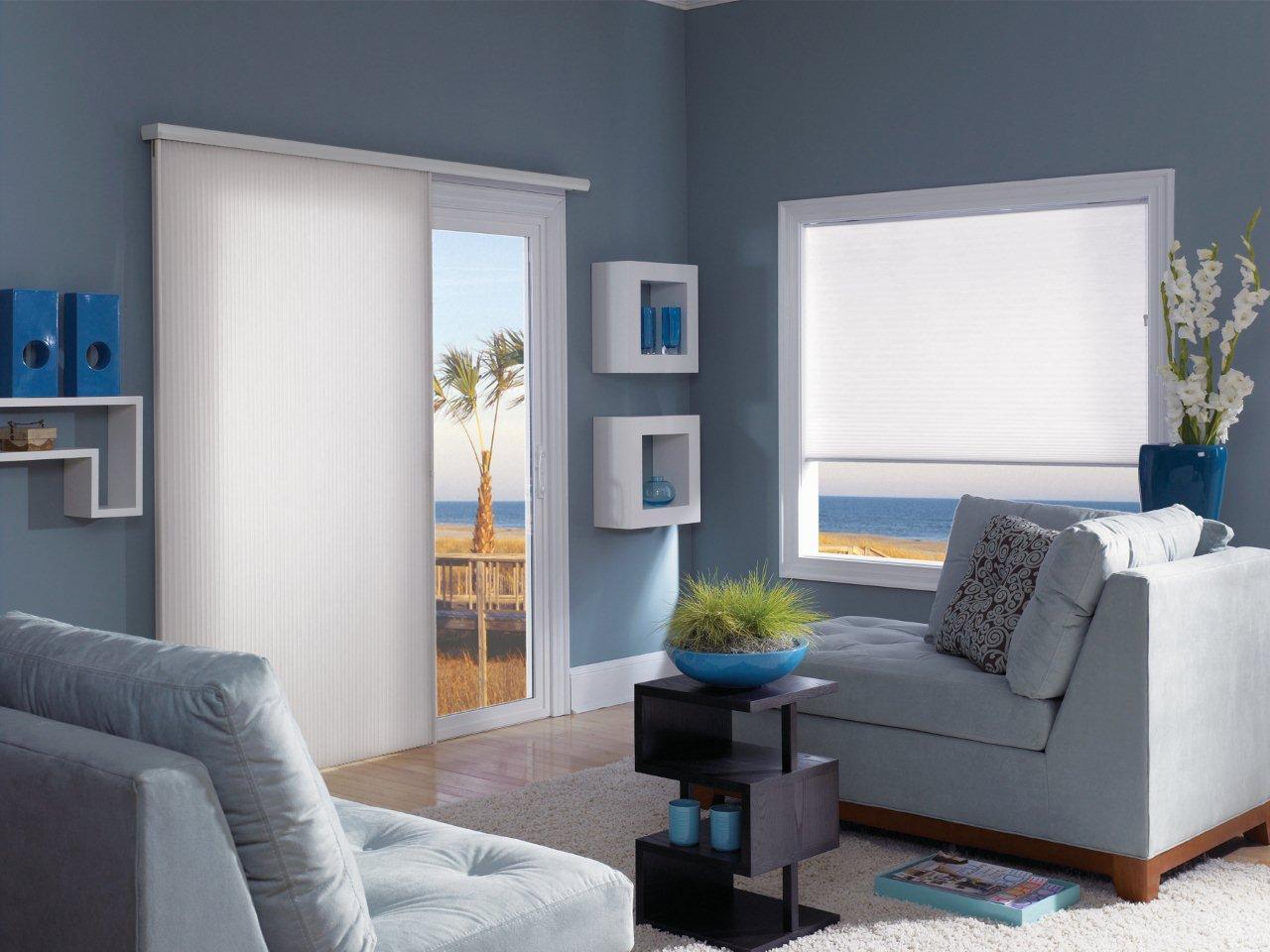 Blue Beach Room Cell Slider