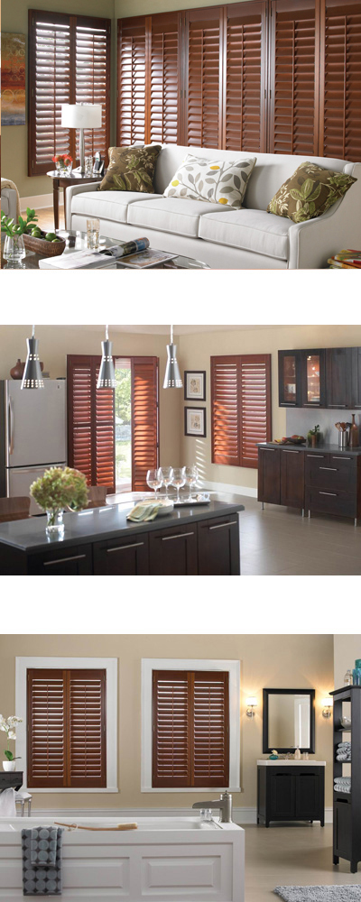 Wood Alloy Shutters